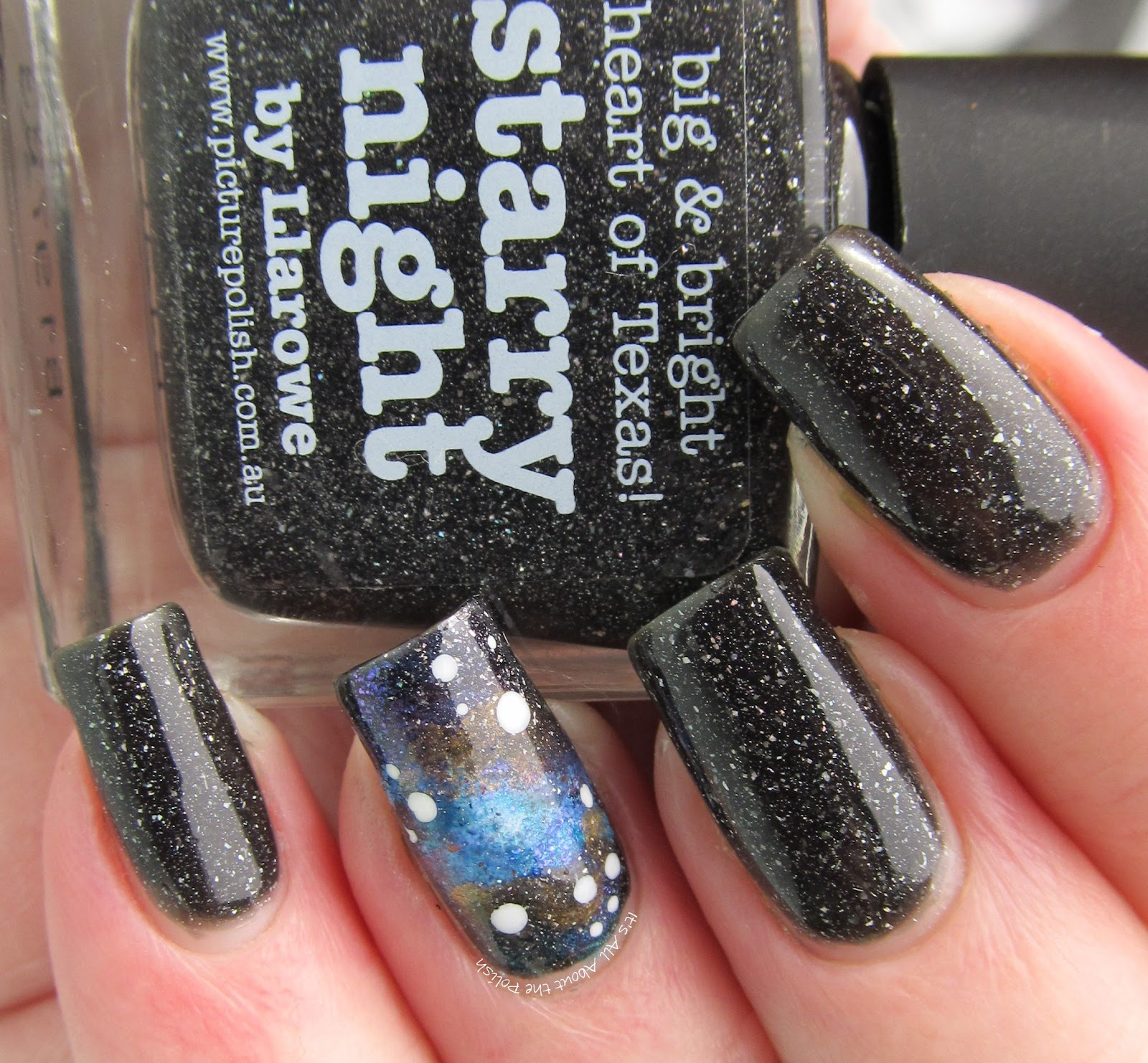 Its All About The Polish Picture Polish Starry Night Galaxy
