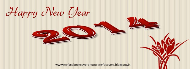 Happy New Year 2014 Wishes Facebook Covers