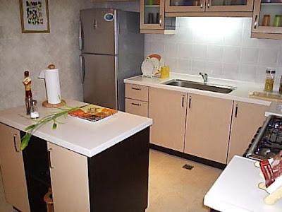 Desain Interior Dapur Kecil Mungil Minimalis Cantik