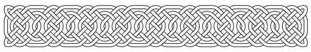 Armband Celtic knot tattoo stencil