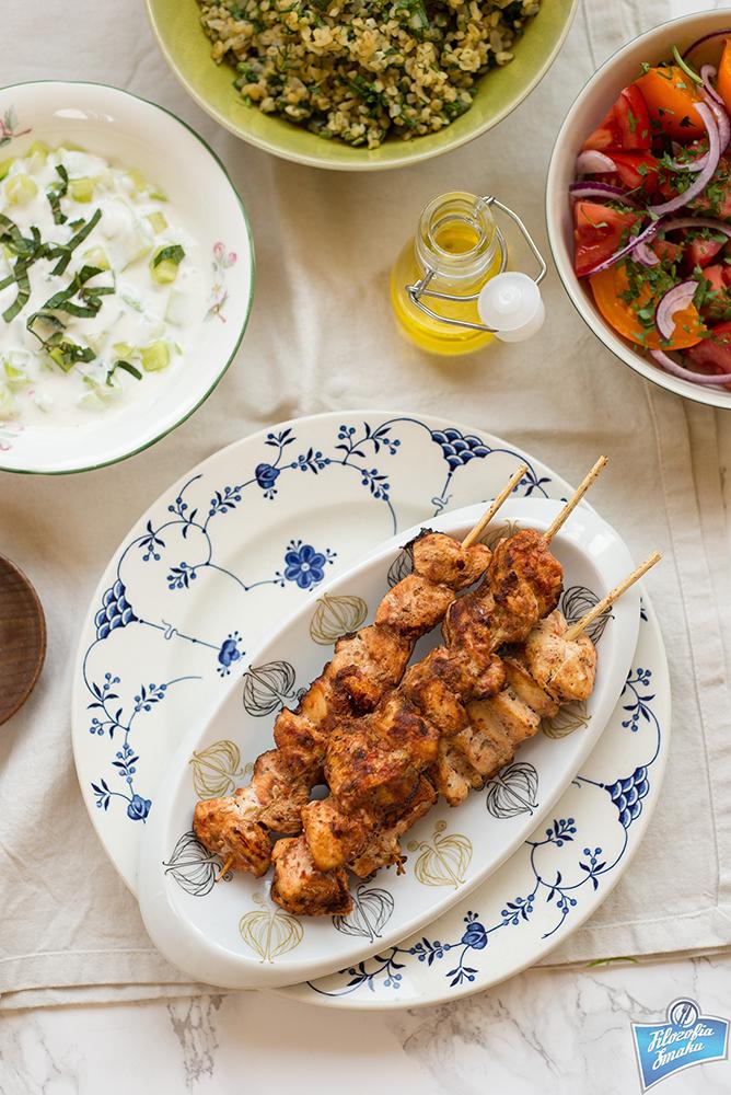Turecki kebab z kurczaka