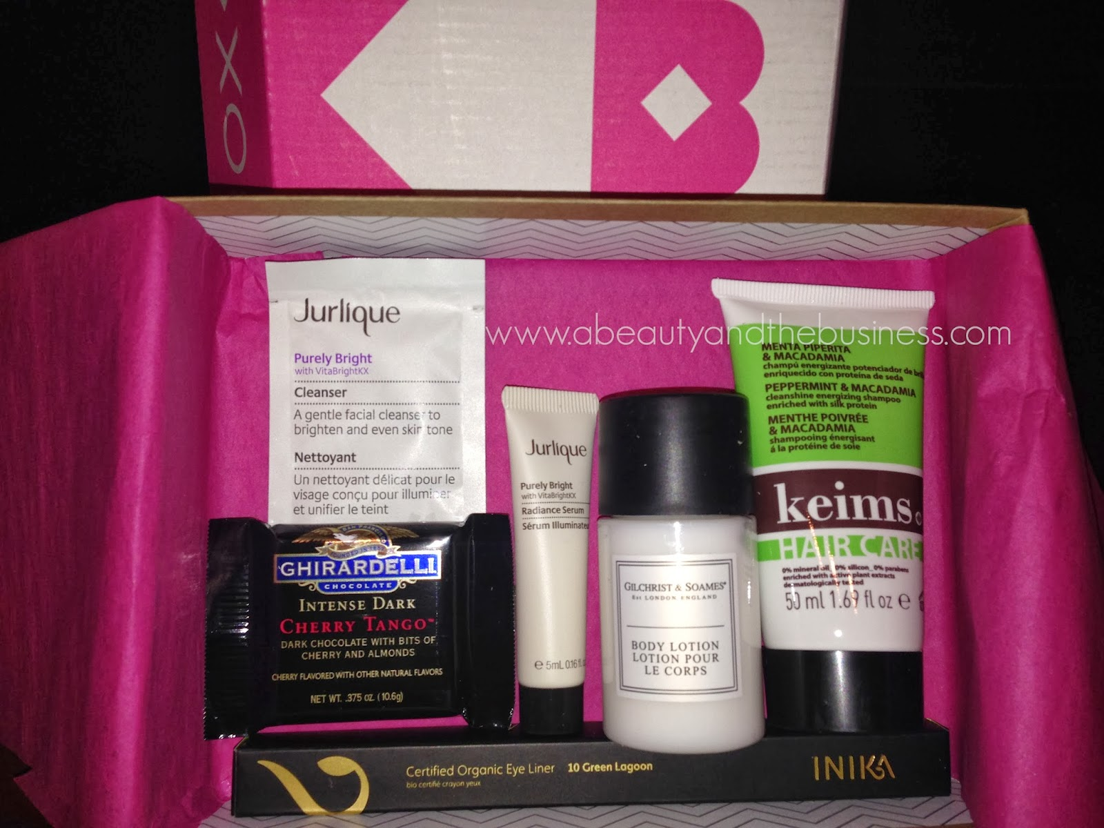 birchbox, birchbox jurlique, birchbox inika, birchbox march, birchbox march 2014, beauty subscription,