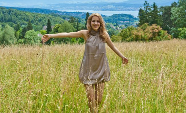 irina giorgi,miss earth switzerland 2011