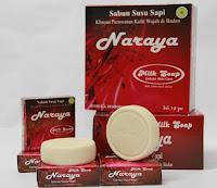 sabun susu - naraya milk soap