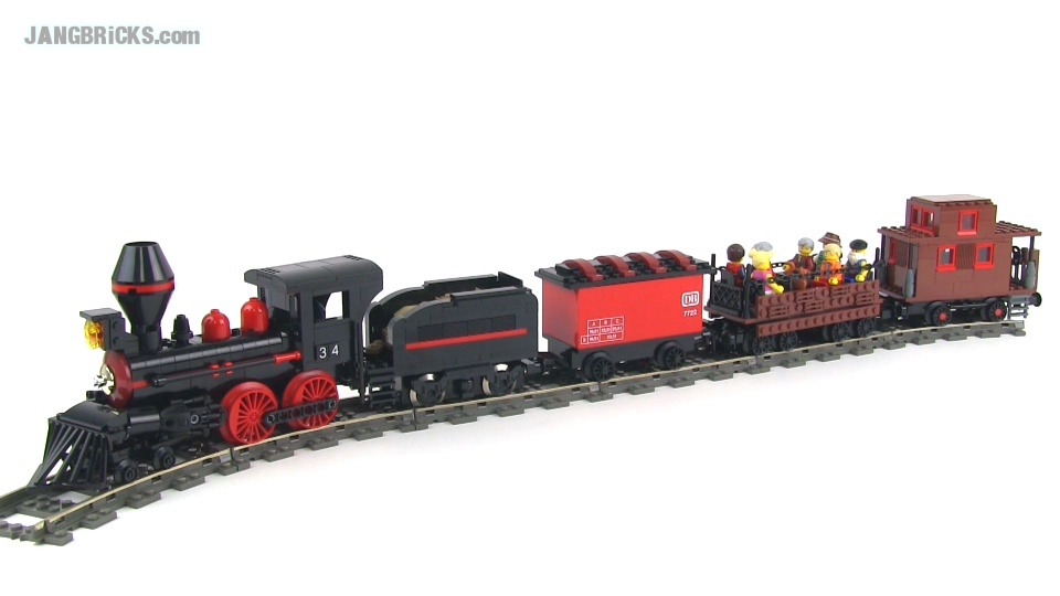 lego moc steam train version 1 4 4 0 locomotive - Lego Halloween Train