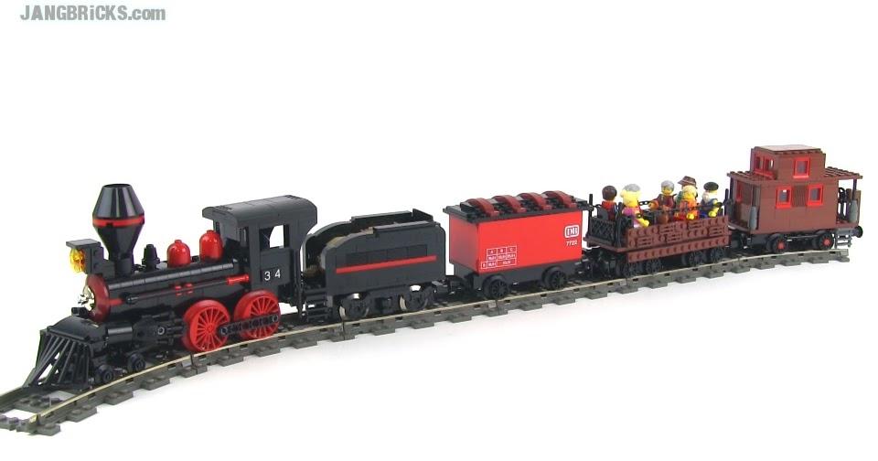 lego heavy haul train instructions