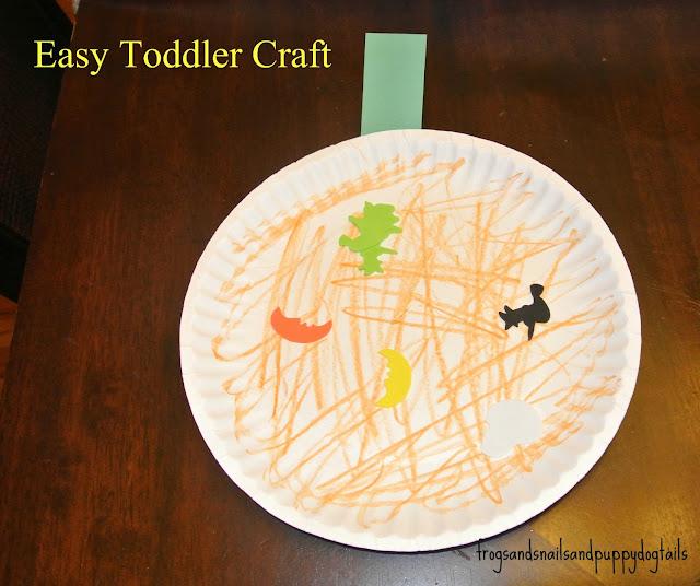 Super Easy Pumpkin Craft
