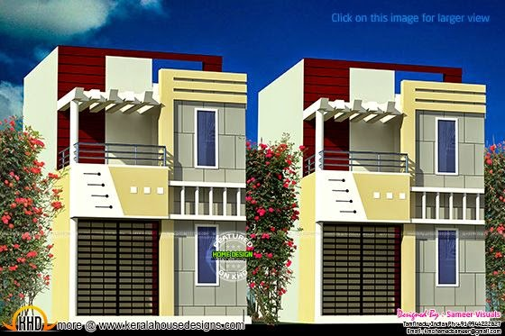 Row house design