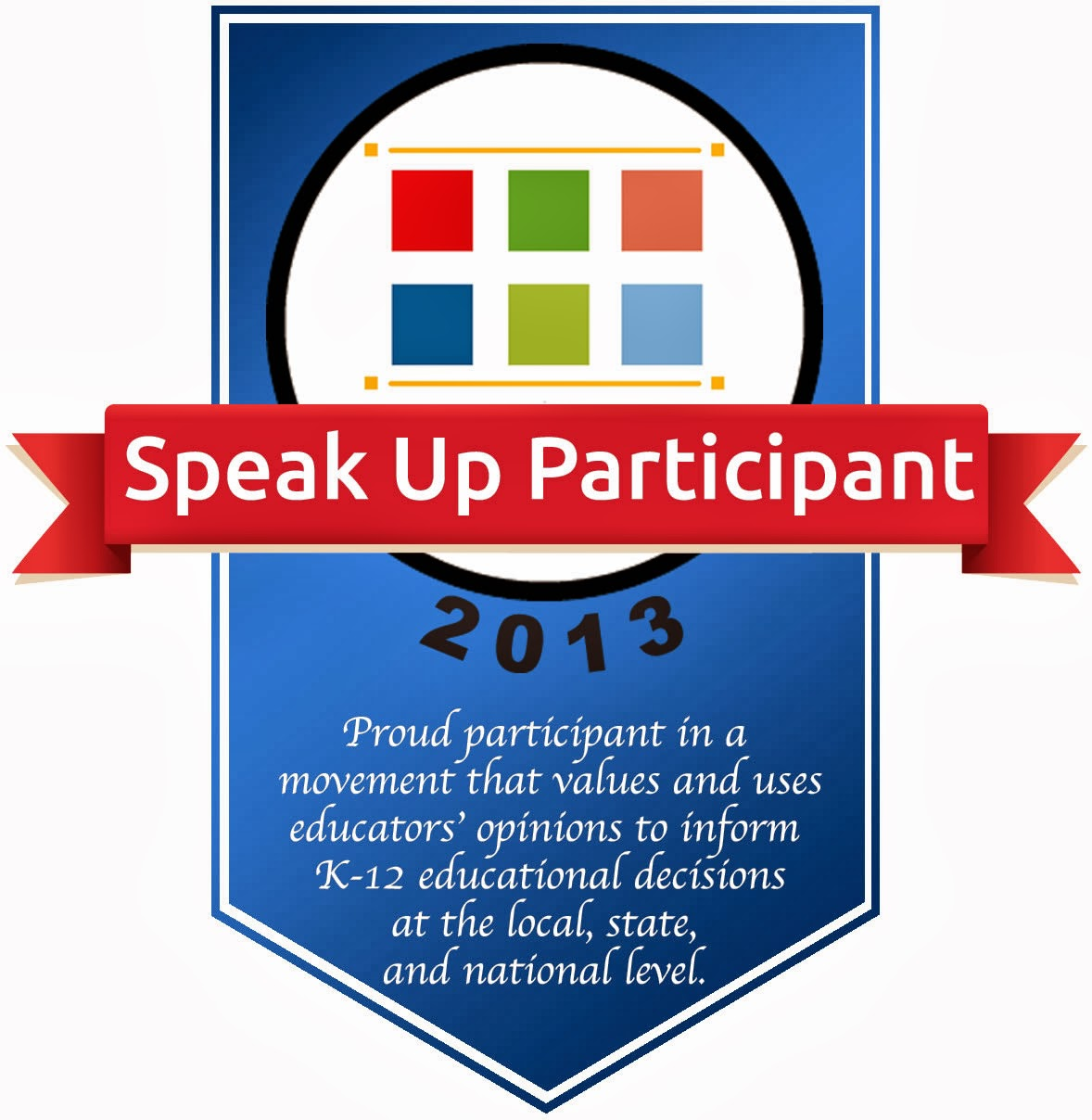 Speak Up badge