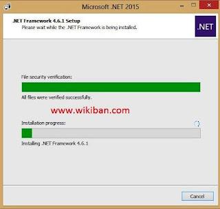 how to install microsoft .net framework 4.6.1 offline