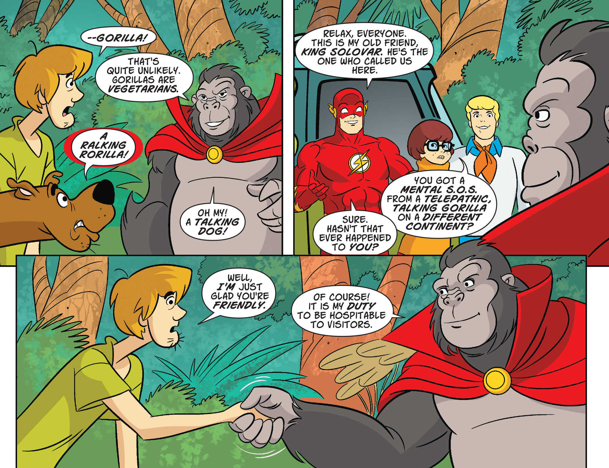 Read online Scooby-Doo! Team-Up comic -  Issue #29 - 12