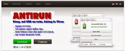 برنامج حذف الفيروسات من الفلاشات download antirun