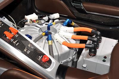 Генератор-маховик Kers Porsche 918 RSR
