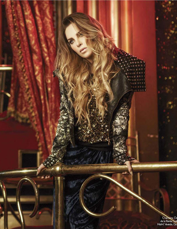 Belinda images from Glamour Mexico Oct 2012 Issue