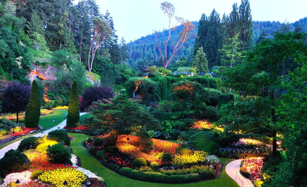 Travellers Review: The Butchart Gardens, Vancouver Island ...