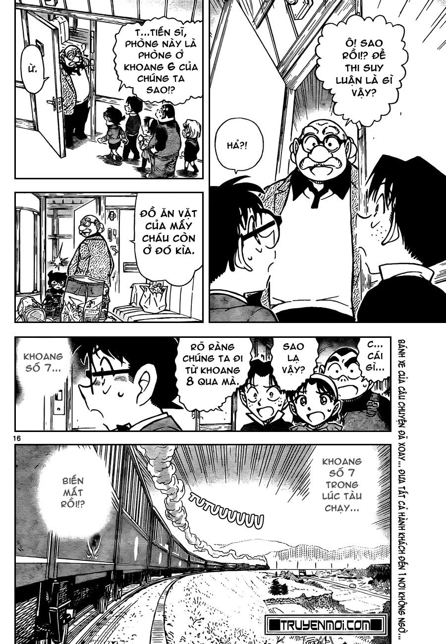 Detective Conan - Thám Tử Lừng Danh Conan chap 818 page 16 - IZTruyenTranh.com