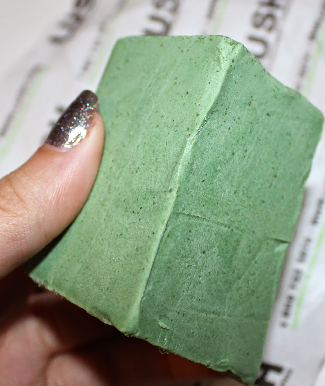 Lush Parsley Porridge Soap