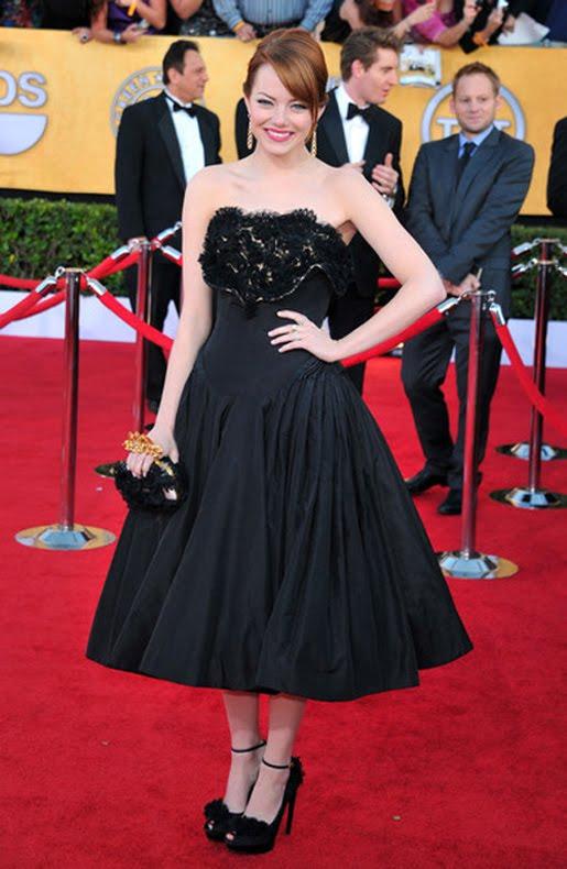 Emma Stone Fashion Style 2012