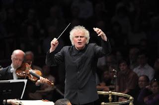 BBC Prom 75 - Simon Rattle, Vienna Philharmonc Orchestra - credit BBC/Chris Christodoulou