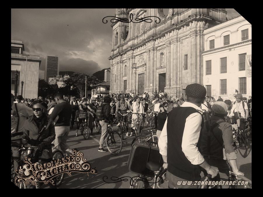 CICLOPASEO CACHACO 2014 en Bogotá 21