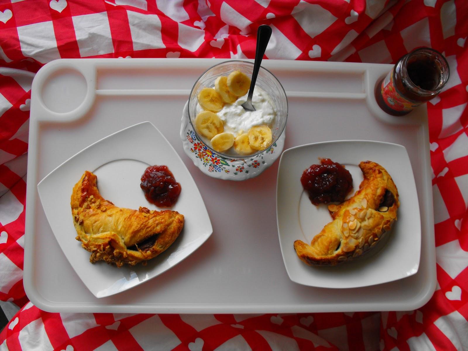 Tęcza W Słoiku śniadanie Do łóżka Szybkie Rogaliki Francuskie
