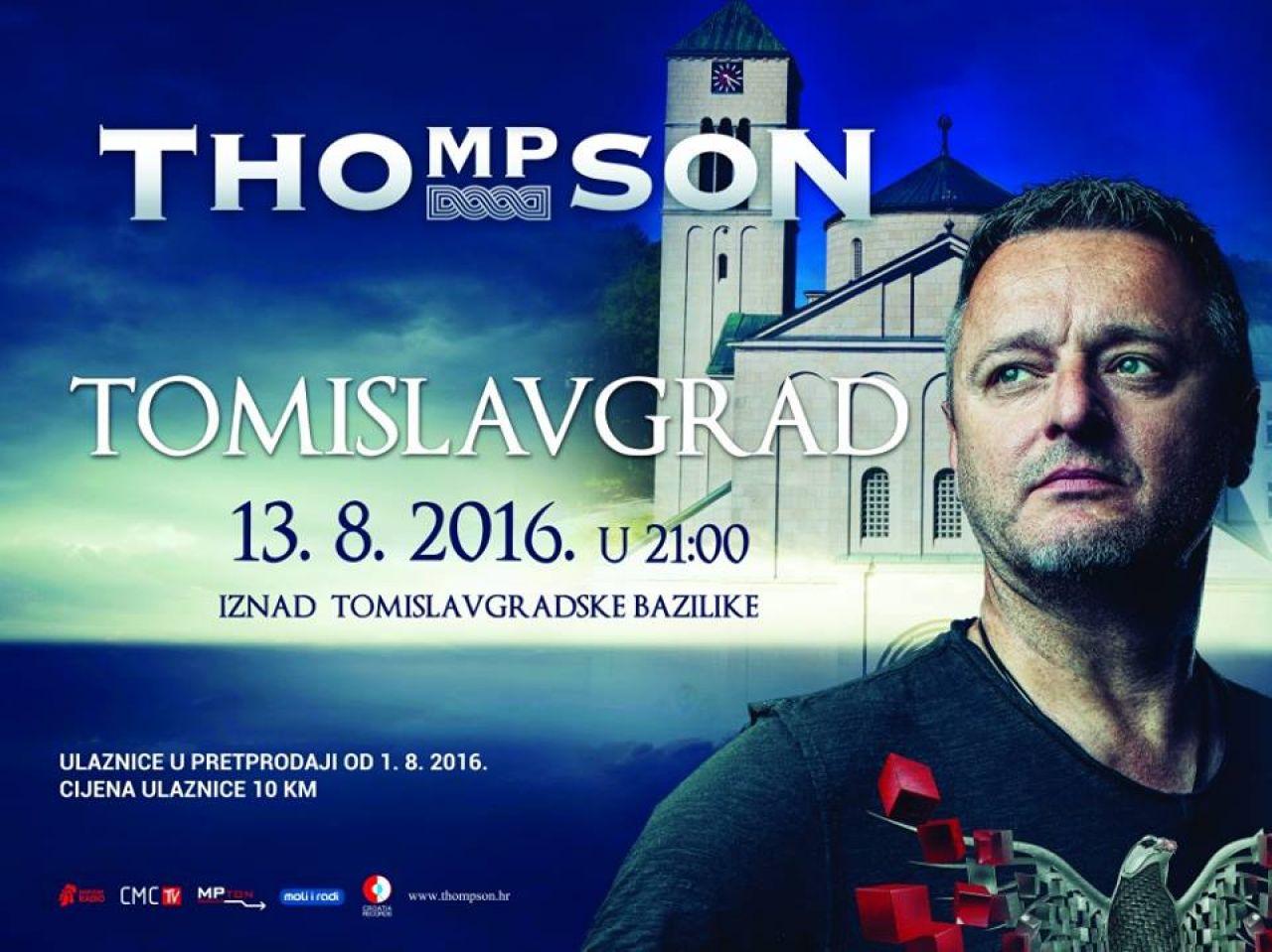 Thompson u Tomislavgradu