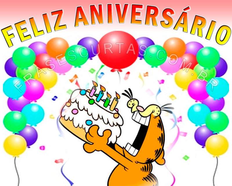 para Aniversariante - Mensagens de Feliz Aniversario e Parabéns