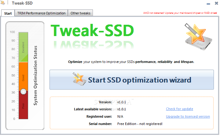 SSD Tweaker 3.4 Free Download