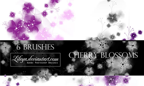25 Delicate-Looking Cherry Blossom Brushes