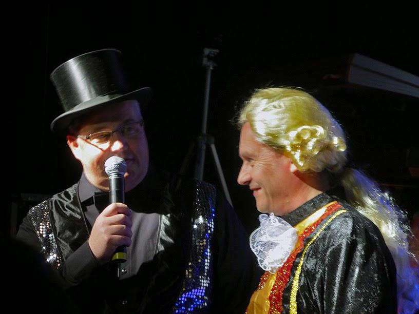 Hans-Hermann Hess & Frank Gerber @ Electronic Circus 2014 / photo S. Mazars