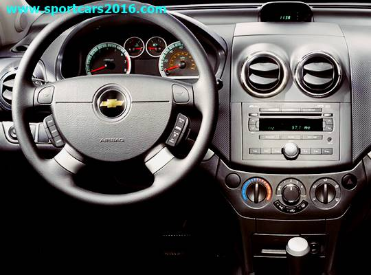 2015 Chevy Aveo Interior