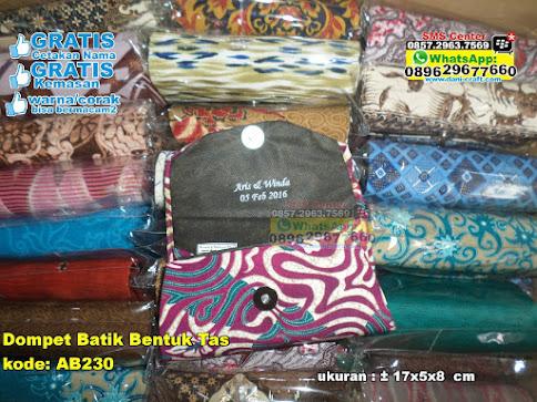 Dompet Batik Bentuk Tas unik