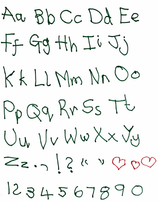 Font Child Handwriting