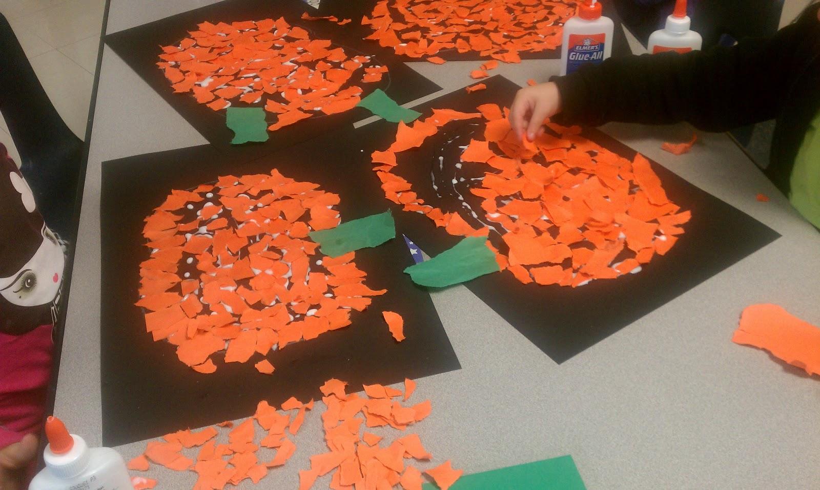 It's just a photo of Revered Pumpkin Artwork Preschool