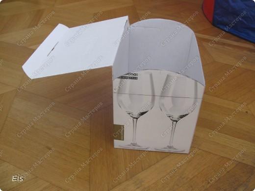 Сундук своими руками из коробки пошагово