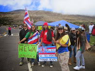 Mauna Kea Defenders Rally to Defend Sacred Mountain from Telescope