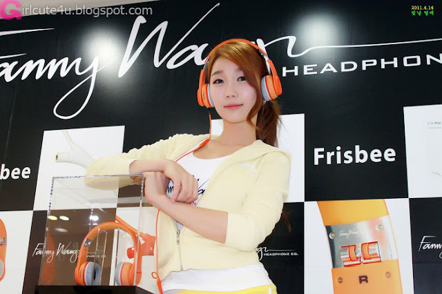 9 Go Jung Ah for Fanny Wang Headphone-very cute asian girl-girlcute4u.blogspot.com