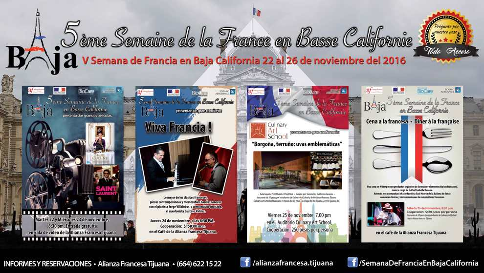 Semana de Francia en Baja California