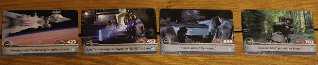 Star Wars Timeline cards