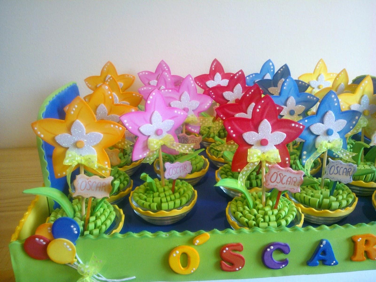 Imagenes De Centros De Mesa Con Flores De Goma Eva - Flores De Goma Eva Libros y Entretenimiento alaMaula
