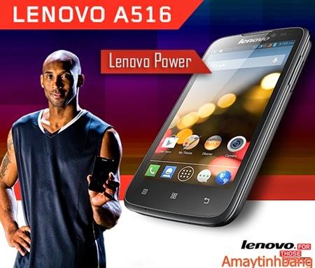 Smartphone giá rẻ lenovo A516