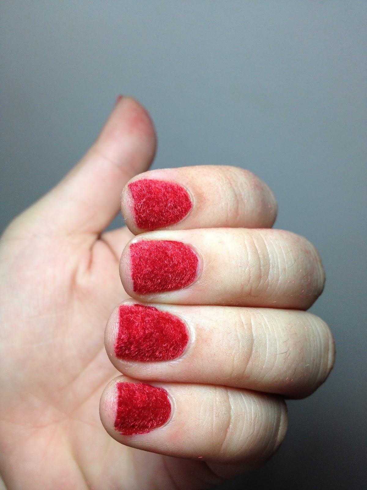 Erika Alices Blog Nailart Fuzzy Nails