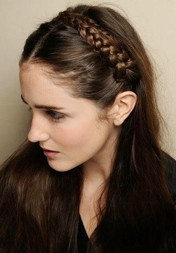 Más de 1000 ideas sobre Diadema De Trenza en Pinterest - Peinados Diadema Pelo Suelto