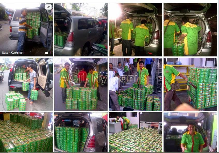 Pesanan nasi box ke area Jakarta