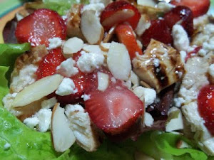 Lazy Berry Salad (Video presentation)