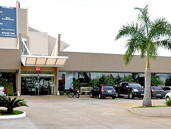 FACHADA DO HOTEL IBIS DE CAMPO GRANDE