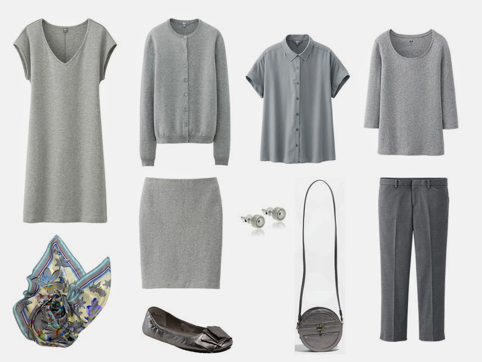 10 piece travel capsule wardrobe for stress dressing
