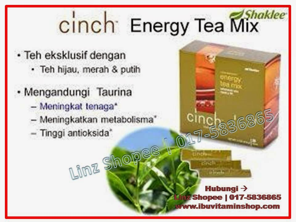 cinch tea mix energy shaklee