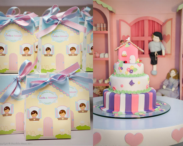 Doll House Cake Images : Viver e uma Arte: Decoracao Casinha de Boneca