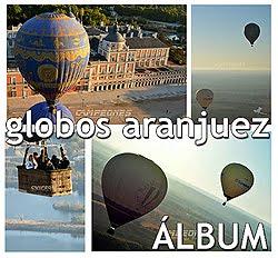 Regata de globos en Aranjuez